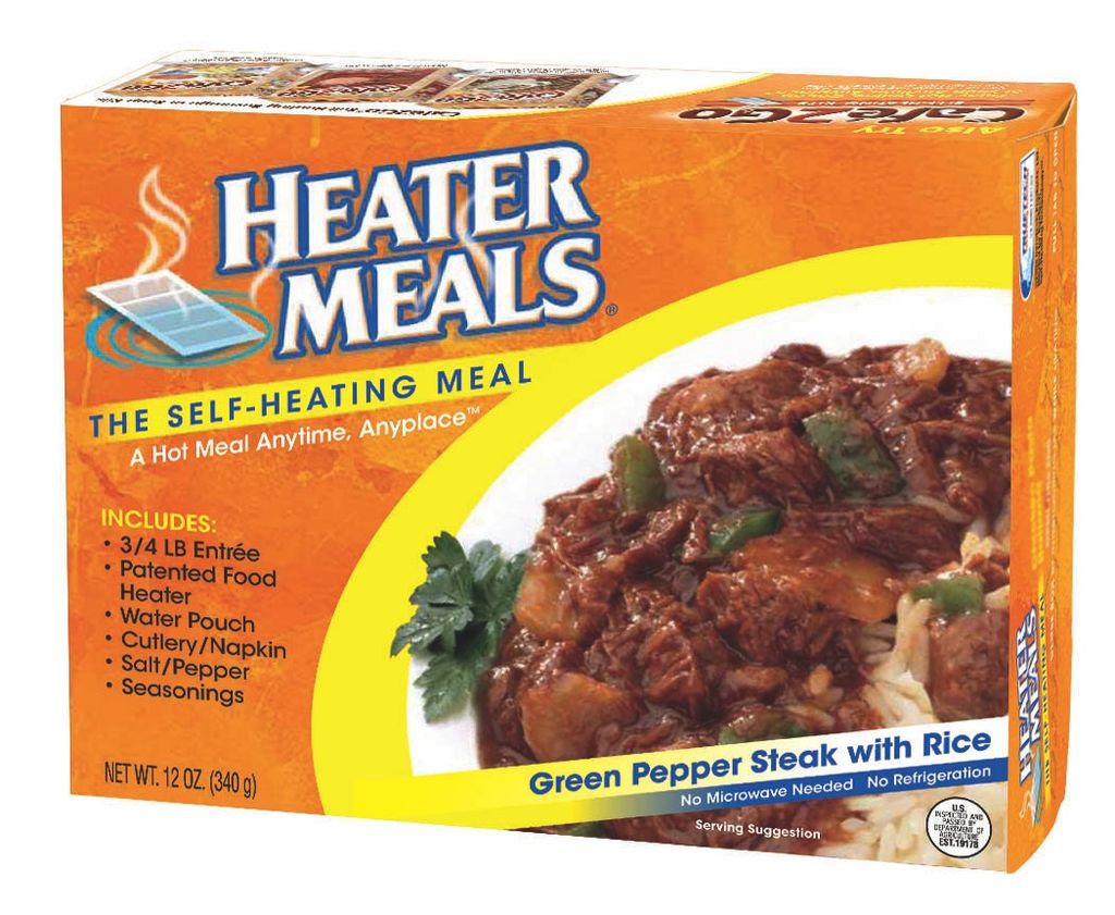 MAYDAY Heater Meal Green Pepper Steak with Rice, 12 oz.
