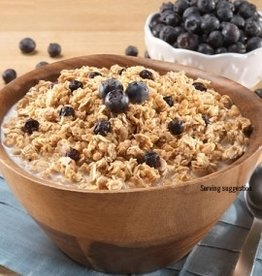 Mountain House Canned Meals, Granola w/ Milk & Blueberries