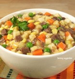 Liberty Mountain Canned Meals, #10, Vegetable Stew with Beef, Mountain House
