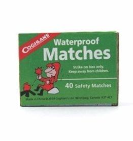MAYDAY Matches, Waterproof, Box of 10