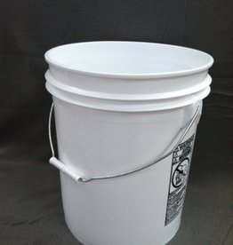 Rhino Pail, 5 gallon, White