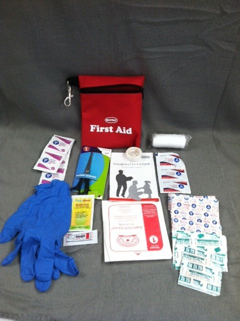 MAYDAY First Aid Kit, Pouch