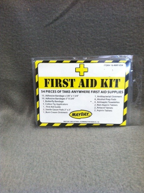 MAYDAY First Aid Kit, 54 pieces