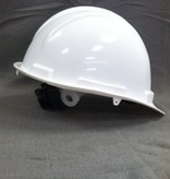 MAYDAY Hard Hat, White, Ratchet Adjustment