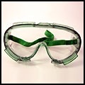 MAYDAY Goggles, Vented, Chemical, Light Green or Clear