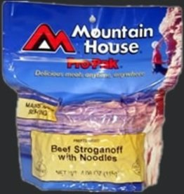 Mountain House Freeze Dried Meals, Pouch, Beef Stroganoff