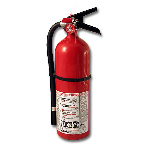 MAYDAY Fire Extinguisher, 5 lb, Heavy Duty