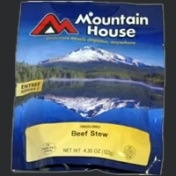 Mountain House Freeze Dried Meals, Pro-Pak Pouch, Beef Stew, One 16 oz. Serving, Mountain House
