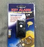MAYDAY Key Chain Alarm with Flashlight