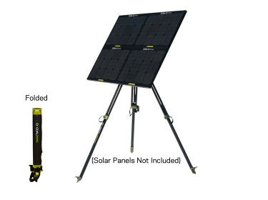Newtek Supply Inc. Solar Panel Tripod, Boulder, 30 Watt, Goal Zero