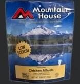 Liberty Mountain Freeze Dried Meals, Pro-Pak Pouch, Chicken Alfredo Low Sodium, Mountain House