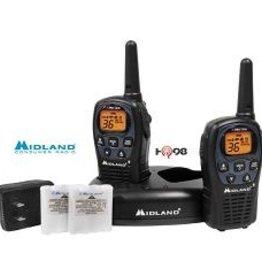 Midland Radios, GMRS 2-Way, 26-Mile Range