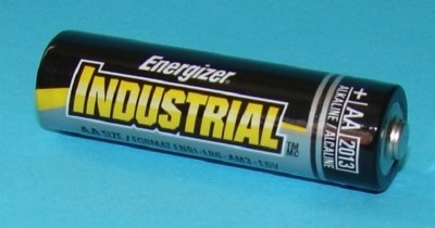 Energizer Battery, Size AA, Industrial, Energizer