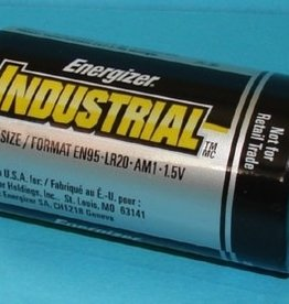 Energizer Battery, Size D