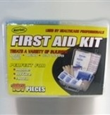 MAYDAY First Aid Kit, 107 pieces