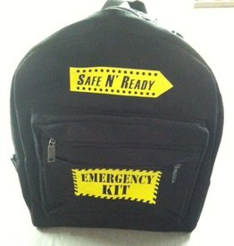 SNR BackPack, Safe N' Ready-Emergency Kit, Yellow