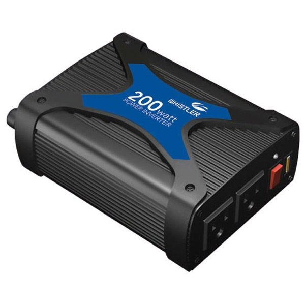 Newtek Supply Inc. Power Inverter, 200 Watt, 2AC outlets