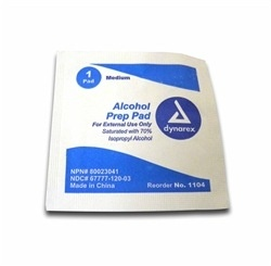 MAYDAY Alcohol Wipes. Box of 100