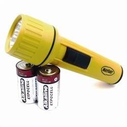 MAYDAY Flashlight, LED, Size D
