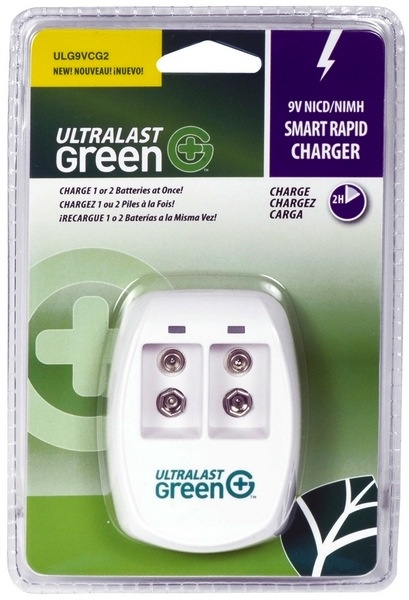 Ultralast Charger, 9 Volt, Smart Rapid