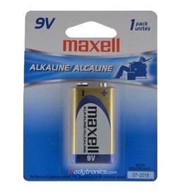 Newtek Supply Inc. Battery, 9V Alkaline, Maxell