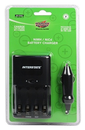 Interstate Charger, Battery, NiMH / NiCd