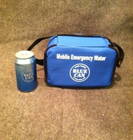 Blue Can Water Water Cooler, Mobile 6 Can Holder