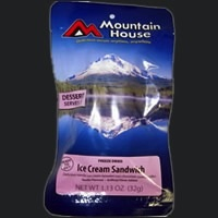 Mountain House Pouch Meals, Ice Cream Sandwich, Mountain House