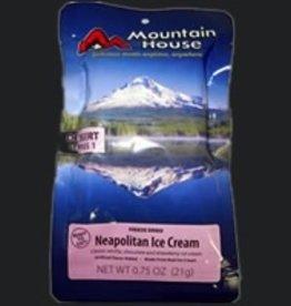 Liberty Mountain Pouch Meals, Ice Cream, Neapolitan