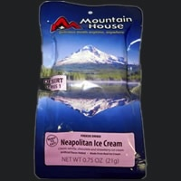 Liberty Mountain Pouch Meals, Ice Cream, Neapolitan, Mountain House