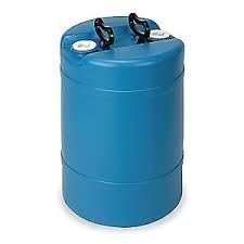 Water Container, HDPE  15 gal.