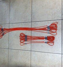 SNR Barrel Ties, Vinyl Coated Steel Cable, 48
