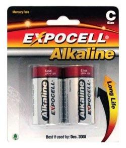 Batteries, Size C, Industrial, 1 Pair