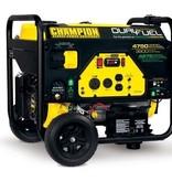 Champion Generator, 4750/3800 Watt Dual Fuel, Electric Start, 8 Wheels, Champion