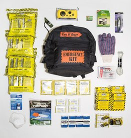 Safe N' Ready Emergency Kit, Backpack, Deluxe, 4 Person