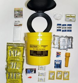 Safe N' Ready Emergency Kit, Bucket, Essential, 3 Person