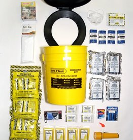 Safe N' Ready Emergency Kit, Bucket, Essential, 4 Person