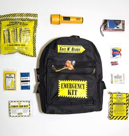 Safe N' Ready Emergency Kit, Backpack, Essential, 1 Person