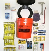 Safe N' Ready Emergency Kit, Bucket, Deluxe, 3 Person