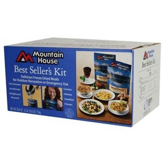 Mountain House Pouch Meals, Best Sellers Kit, Mountain House