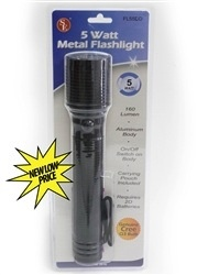 MAYDAY Flashlight, CREE LED, 7 Watt with Pouch