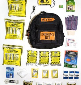 Safe N' Ready Emergency Kit, Backpack, Deluxe, 3 Person