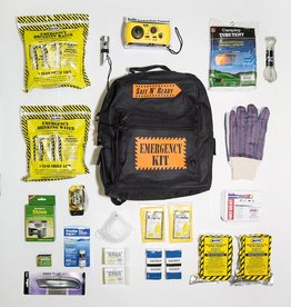 Safe N' Ready Emergency Kit, Backpack, Deluxe, 2 Person