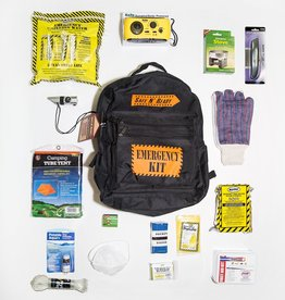 Safe N' Ready Emergency Kit, Backpack, Deluxe, 1 Person