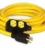 Champion Generator Cable, 25 ft., 250/125 Volt, Champion