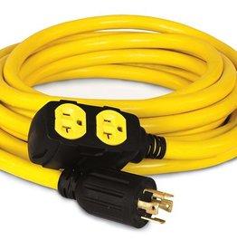 Champion Generator Cable, 25 ft., 250/125 Volt
