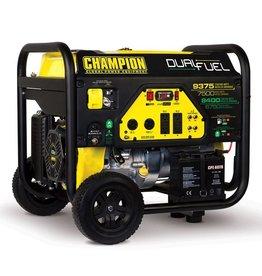 Champion Generator, Dual Fuel 7500/9375