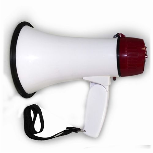MAYDAY Megaphone, Mighty Mega with Siren