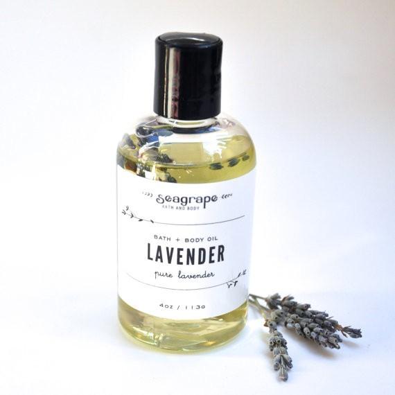 Seagrape Lavender Massage Oil