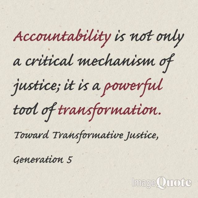 Consent, Reid Mihalko and Accountability